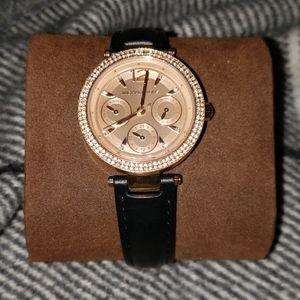 MICHAEL Michael Kors Women's Leather Watch